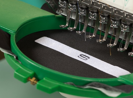 the textile industry: Textile embroidery machine in Textile Industry