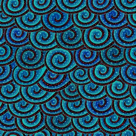 Escalas vector seamless pattern Ilustración de vector