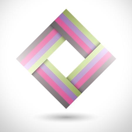 Logo abstract shape Stock Vector - 15592773