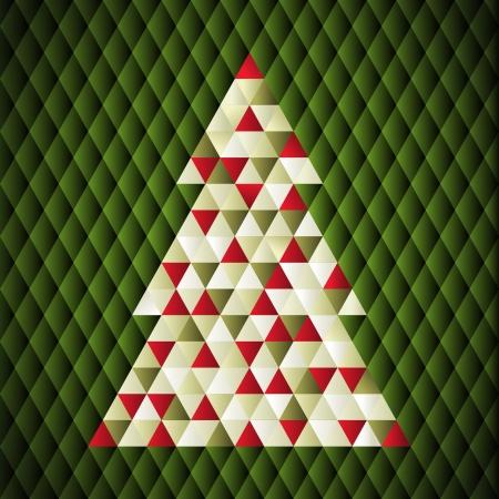 クリスマスの背景。ベクトル イラスト。