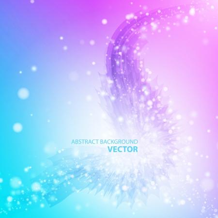 explosie: Abstract vector achtergrond Muziek achtergrond Heldere achtergrond Groene achtergrond Blauwe achtergrond Violette Abstracte kunst Stock Illustratie