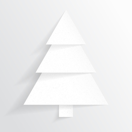 Paper Christmas tree  Christmas background  Christmas card  Happy New Year  Paper texture  Christmas origami  Christmas postcard
