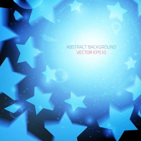 party background: Abstract vector background  Business background  Stars background  Music background  Party background  Bright background  Blue background  Glowing background  Presentation background
