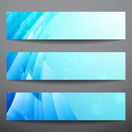 Abstract vector banners  Business banner  Banner background  Web banner  Music banner  Business card  Party banner  Bright background  Blue background  Technology background