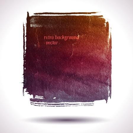 Grunge background Watercolor background Retro background Vintage background Business background Abstract background Hand gezeichnet Texture Hintergrund Abstrakte Form Standard-Bild - 16902567