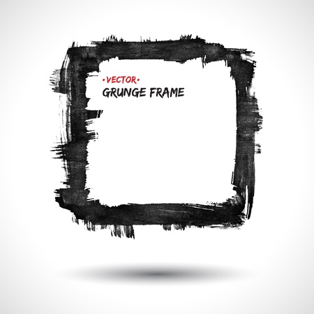 Grunge  frame Stock Vector - 18393396