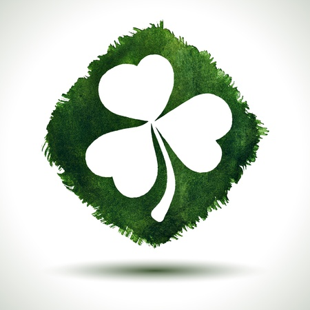 Grunge saint patrick day background.  Vector