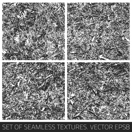 Set of vector seamless textures Stock Vector - 18892333
