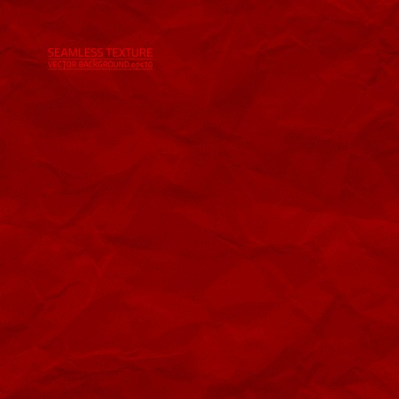 creased: Creased red paper seamless texture Illustration