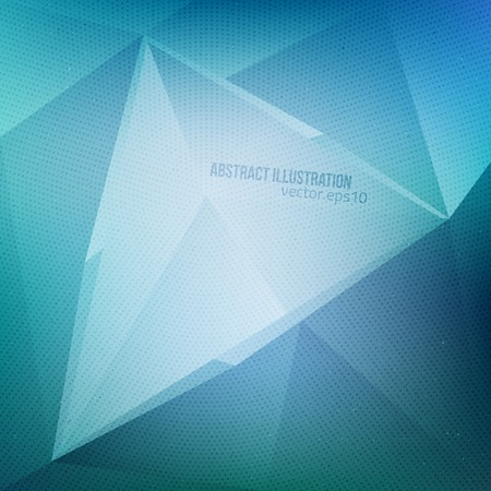 Abstract vector blue background with halftone texture.  Vector