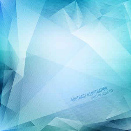 fondo geometrico: Vector Resumen de fondo azul con textura de medios tonos. Vectores