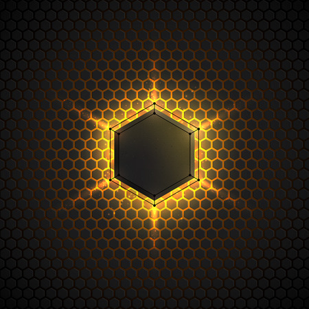 scifi: Abstract vector dark background. Vector background for web, applications, business. Vector abstract sci-fi illustration. Vector polygons