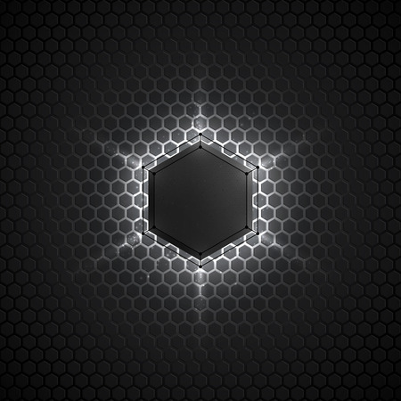 scifi: Abstract vector dark gray background. Vector background for web, applications, business. Vector abstract sci-fi illustration. Vector polygons