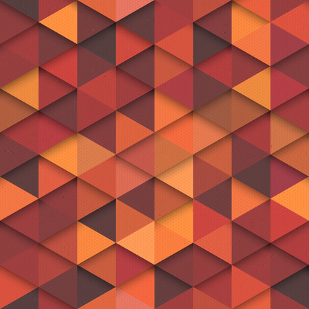 Seamless orange vector hipster pattern. Vector retro pattern. Seamless vector background. Fashion vector seamless pattern