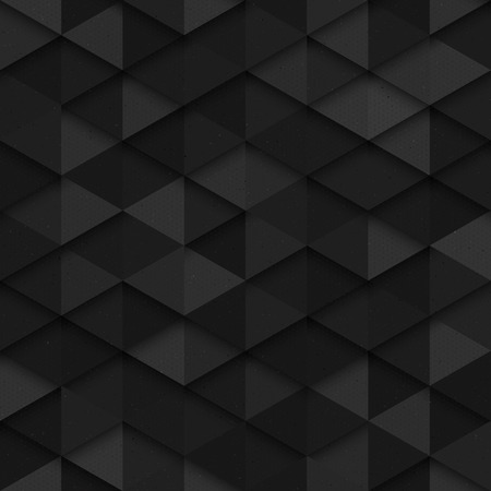 Technology seamless vector dark pattern. Seamless dark gray vector abstract art background. Dark seamless structure background. Carbon structure vector  イラスト・ベクター素材
