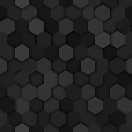 Seamless technology vector dark seamless pattern. Vector seamless dark structure. Vector seamless dark wallpaper Illustration