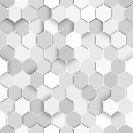 honeycomb: Seamless vector ciencia sin patrón. Tecnología de vectores de fondo. Patrón tecnología inconsútil del vector. Ciencia fórmula de vectores de fondo Vectores