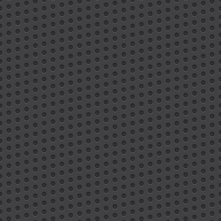 Technology geometric perforated material vector seamless background for applications, app, web user interfaces, ui, internet sites, business. Seamless vector pattern. Science vector background