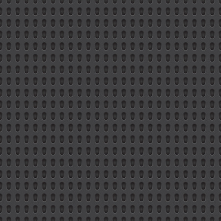 Technology vector geometric perforated material seamless dark grey background for applications (app), web user interfaces (ui), internet sites, business. Abstract technology minimalism wallpaper