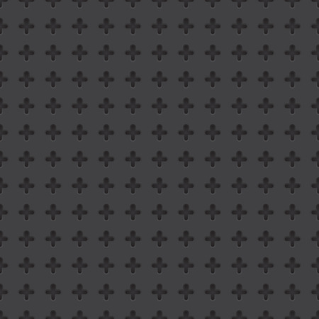 rood: Technology vector geometric perforated material seamless dark grey background for applications (app), web user interfaces (ui), internet sites, business. Abstract technology minimalism wallpaper