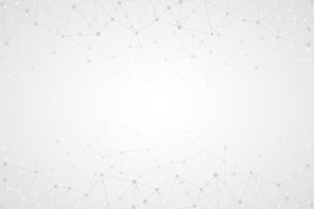 Brillante fondo simple abstracto de la tecnología del vector. Estructura de conexión. Vector poligonal resumen de papel tapiz. Formas de tecnología abstractos. Vector de fondo la ciencia