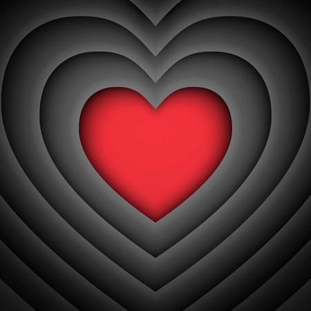 abstract heart: Love heart vector retro background. Vector abstract vintage background. Abstract heart vector backdrop. Simple vector background. Love vector illustration