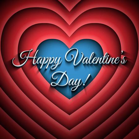cartoons sweet: Happy Valentines Day vector retro background. Vector lettering design. Heart vector background. Vector typography design. Love vector illustration. Vector retro background Illustration