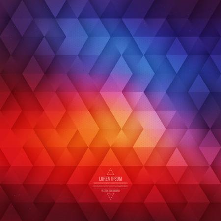 luz roja: La tecnología de fondo abstracto geométrico