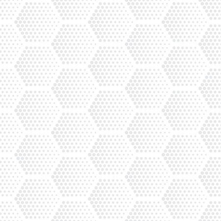 abstract circles: Vector light gray geometric halftone seamless pattern. Retro pointillism vector seamless background. Vector old school design. Vector bright dotted texture