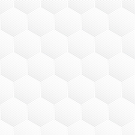 halftone pattern: Vector light gray geometric halftone seamless pattern. Retro pointillism vector seamless background. Vector old school design. Vector bright dotted texture