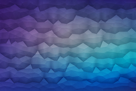 waveform: Abstract 3d vector geometrical polygonal waveform structure bright background for design, business, print, web, ui and other