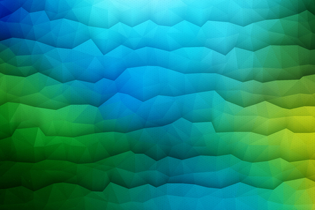 blue waves: Abstract 3d vector geometrical waveform bright background for design, business, print, web, ui and other