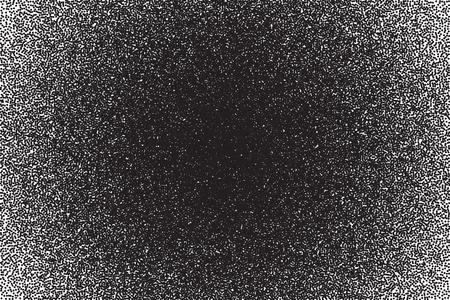 Vector gepunktete Textur. Abstrakt dotwork Gravur Punktierung Hintergrund Standard-Bild - 58974077