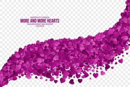 Resumen Antecedentes Los corazones Vector