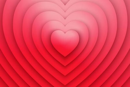 Heart Love Symbol Vector Background