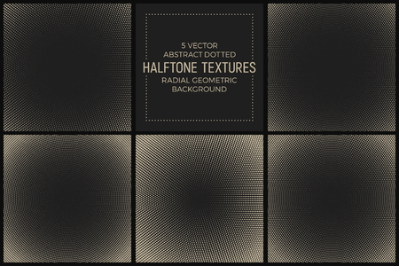 perforated: Vector abstract halftone texture. Illustration