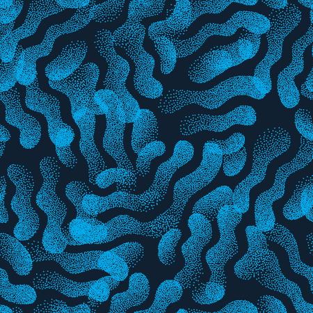 arbitrario: Vector Abstract Stippled Weird Seamless Pattern