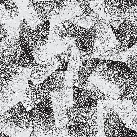 ベクトル抽象的点描奇妙なシームレス パターン  イラスト・ベクター素材