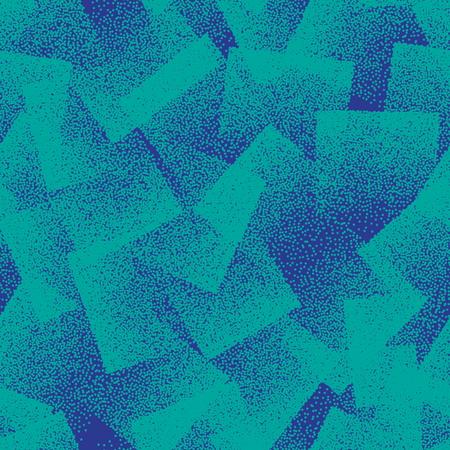 벡터 추상 Stippled 이상한 연속 패턴 일러스트