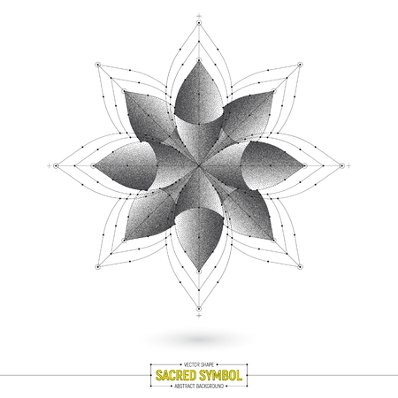Vector Esoteric Mandala Art Illustration