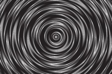 Halftone Resumen Hypnotic Spiral figura Vectores