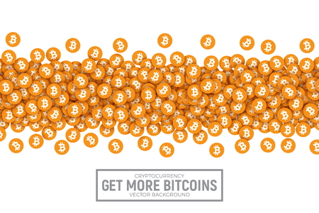 Vector 3D Cryptocurrency Bitcoin Icons