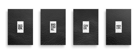 Folleto de vector de tecnología geométrica minimalista 3d, cubierta, folleto, plantilla de diseño de libro aislado sobre fondo blanco. Ilustración dinámica del ciberespacio