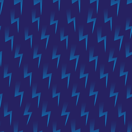 Bolt Icon Vector Seamless Pattern