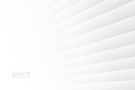 White Abstract Striped Vector Background