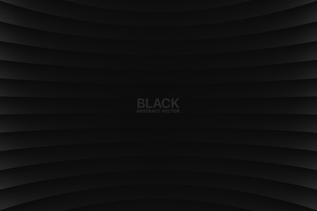 Vector Black Abstract Geometrical Background