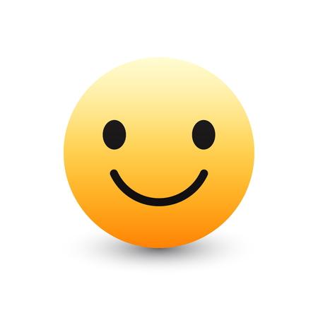 3D Vector Emoticon Icon Design