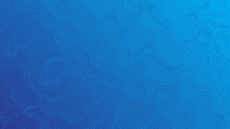 Blue Abstract Vector Background. Subtle Wavy Lines Technology Wallpaper