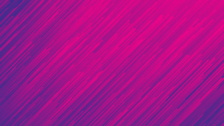 Dynamic Flow Bright Vivid Blue Violet Gradient Lines Abstract Background In Ultra High Definition Quality. Digital Glitch Conceptual Art Illustration