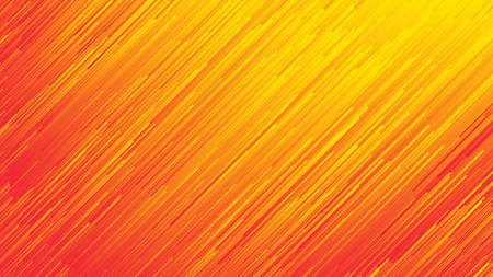 Dynamic Flow Bright Vivid Orange Red Gradient Lines Abstract Background In Ultra High Definition Quality. Digital Glitch Conceptual Art Illustration